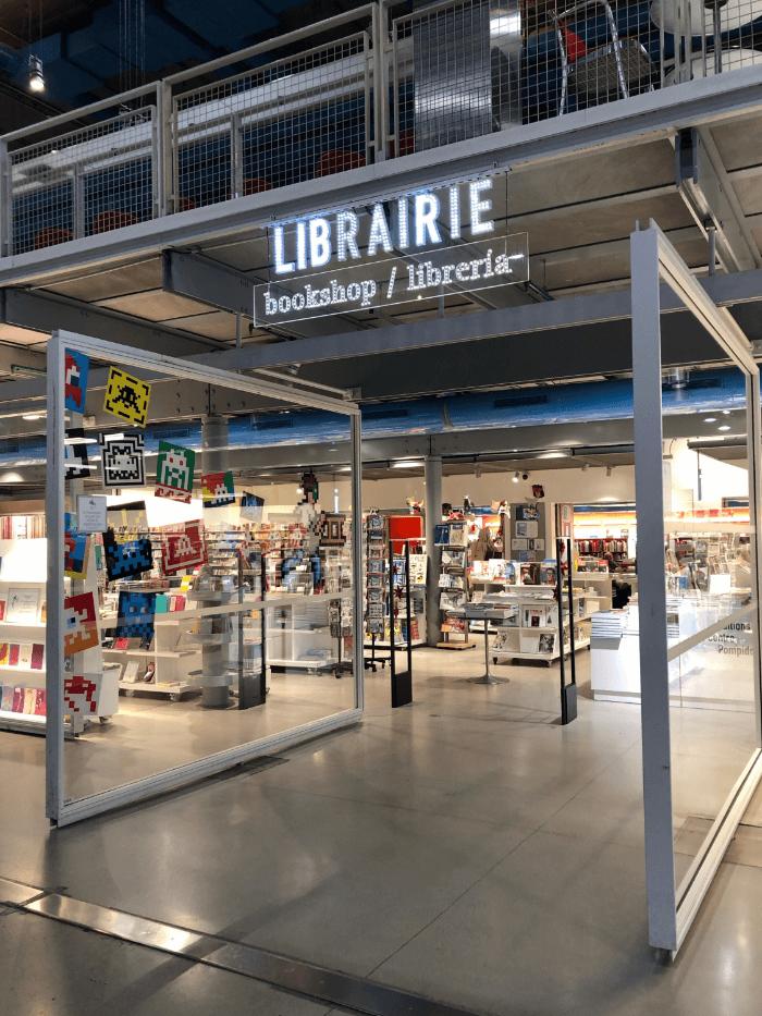 Centre Pompidou book store
