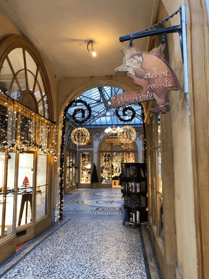 Paris Passage interior of Vivienne