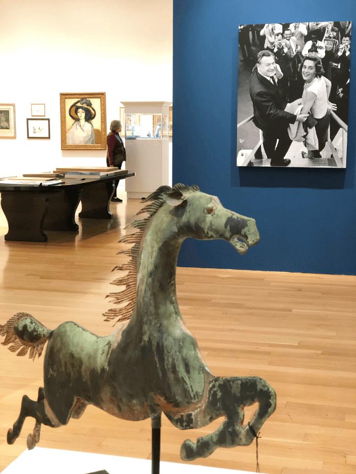 Art Auction Flying Horse Weathervane