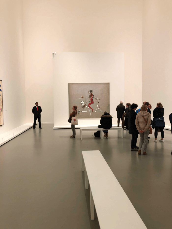 Gallery view of the Louis Vuitton Foundation Jean-Michel Basquiat Exhibit