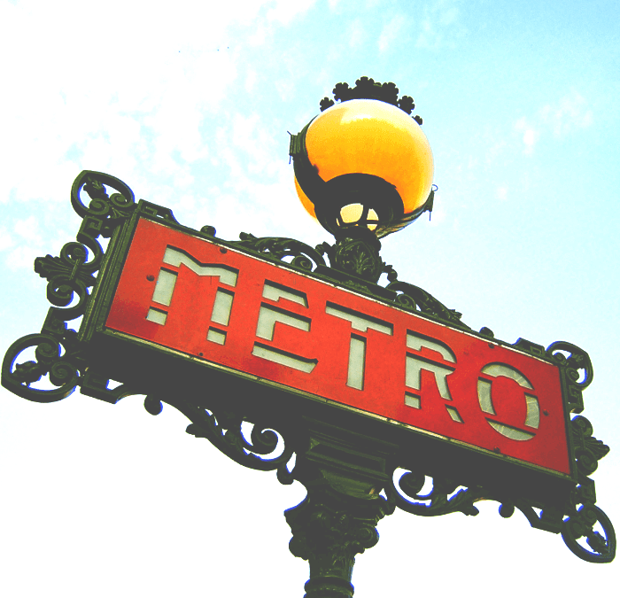 Paris:  Using the Metro Like a Pro