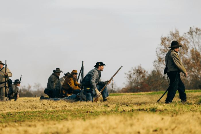 Civil War Living History re-enactors Franklin Tennessee