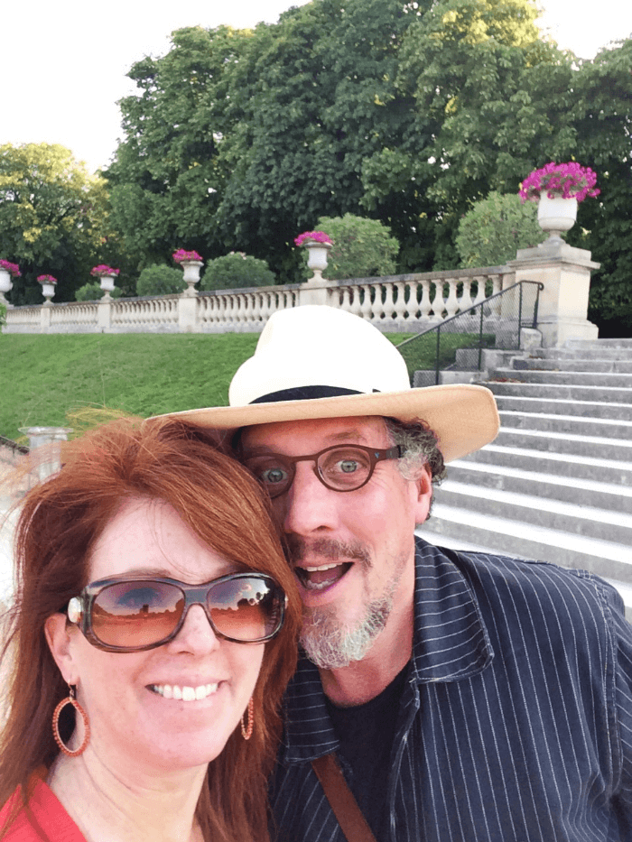 The Curious Cowgirl and Will Evans in Paris