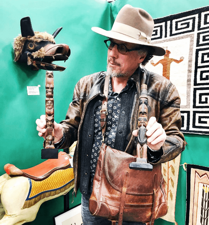 Antique Totem Poles at the Heart of Tennessee Antique Show