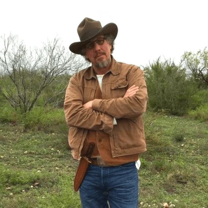 Will Evans in his favorite Cowboy Hat