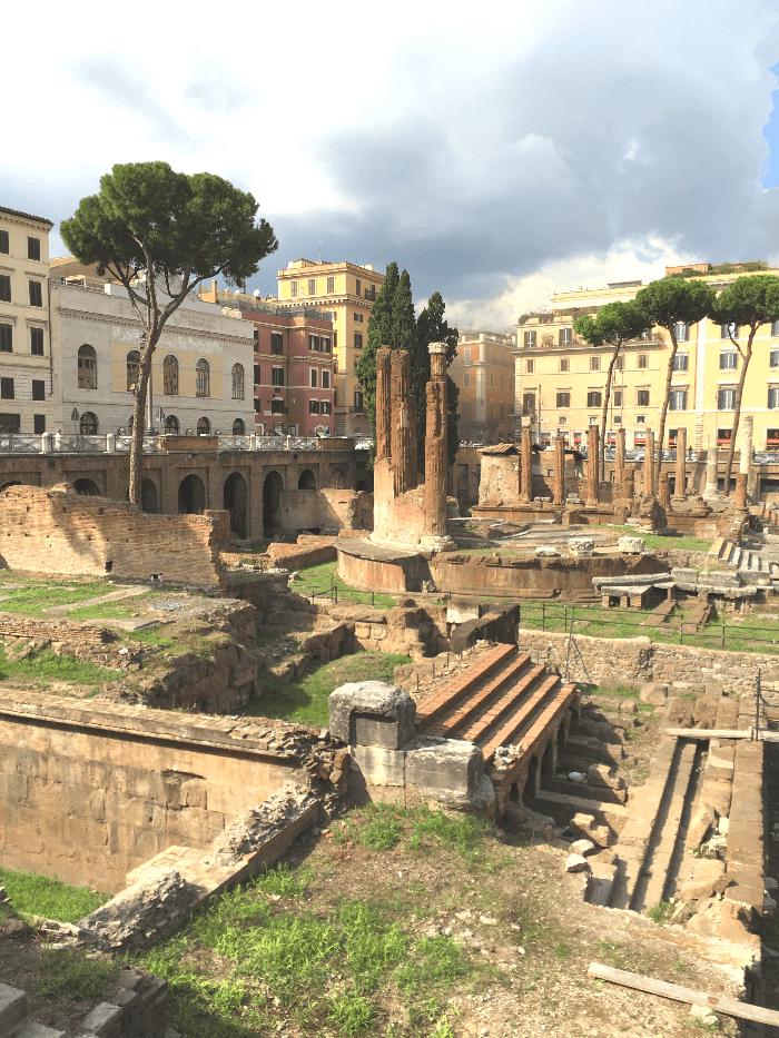 Ruins of Rome's Largo Argentina