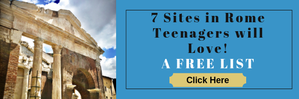 7 Sites in Rome Teenagers will Love button