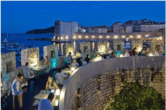360 Restaurant Dubrovnik, Croatia