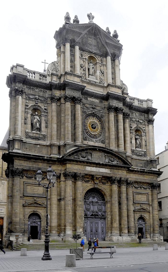 Church of Saint Paul-Saint Louis Paris