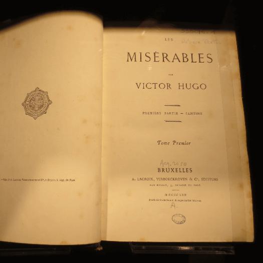 Les Miserables Settings:  The Paris Sites