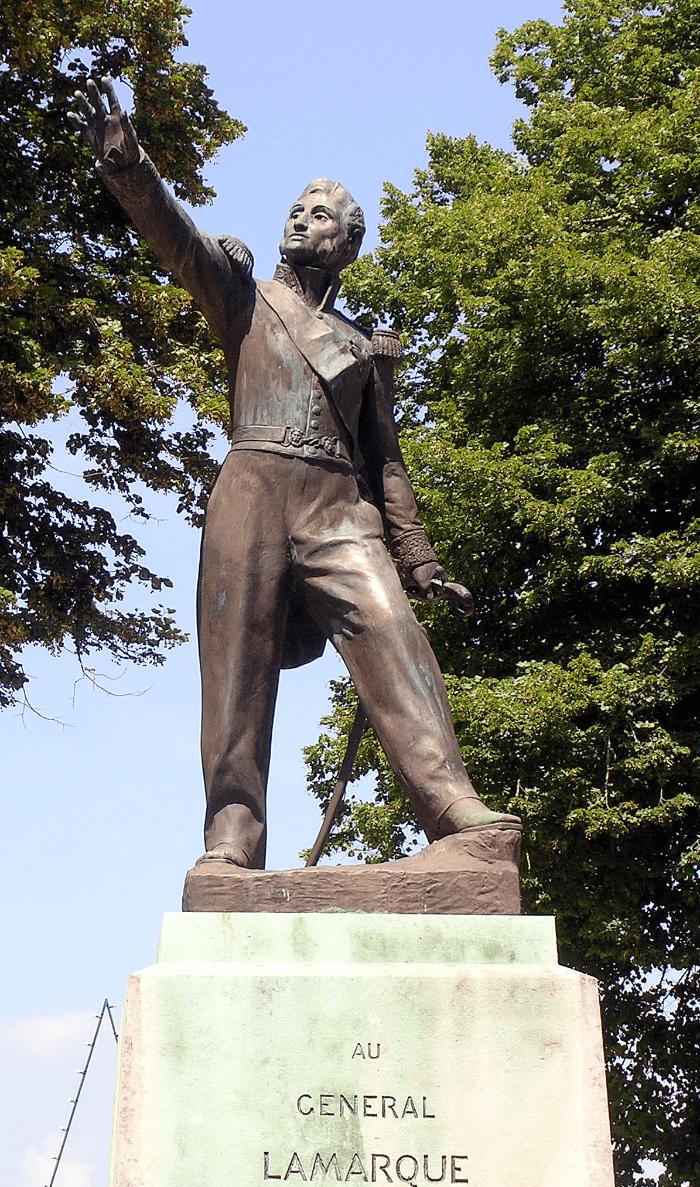 General Jean Maximilien Lamarque Statue in Paris