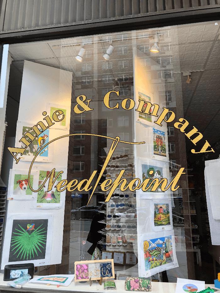 Annie & Company Store Window