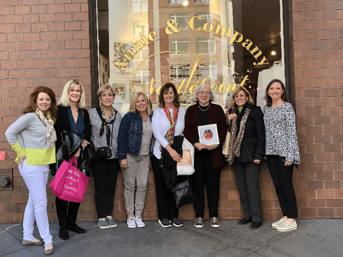2019 Curious Cowgirl Needlepoint Retreat at Annie & Company