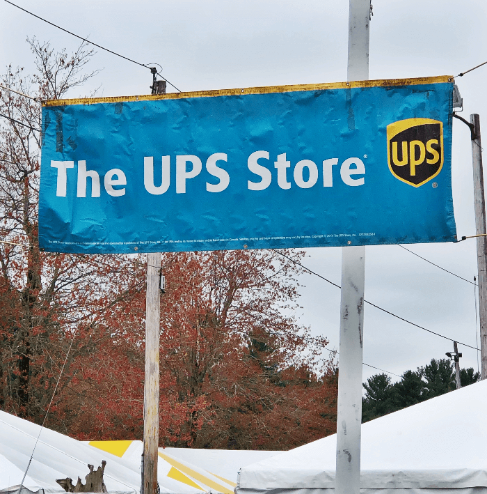Brimfield UPS Sign