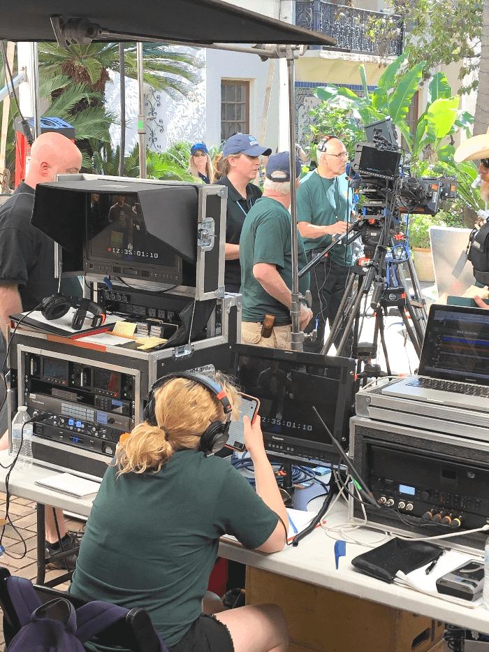Antiques Roadshow film crew