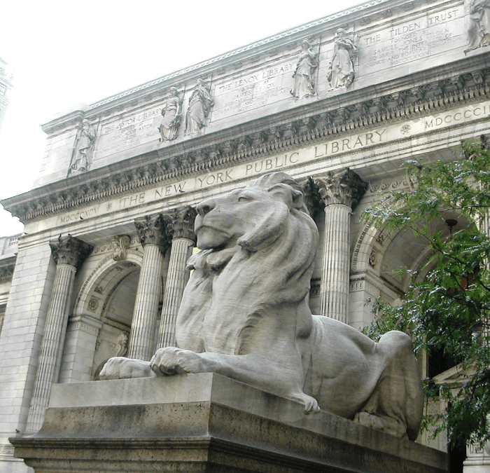 New York City History:  The 5th Avenue Library